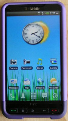 Android on an HTC-HD2