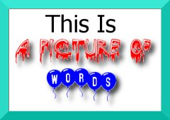 picture of words